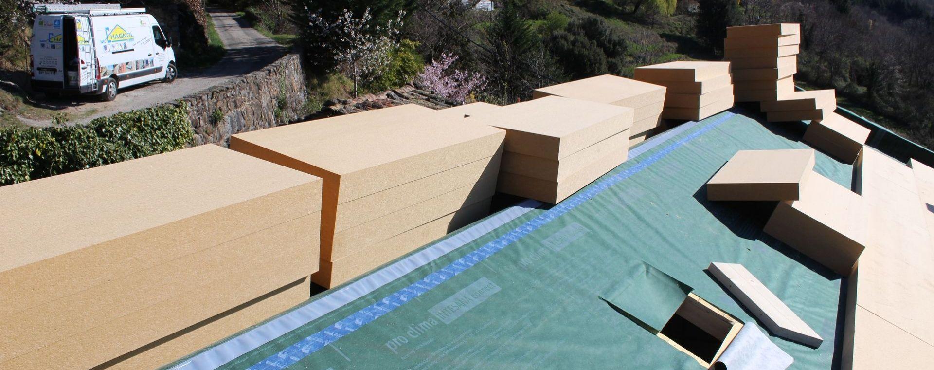 Isolation des toitures (rampants) et combles