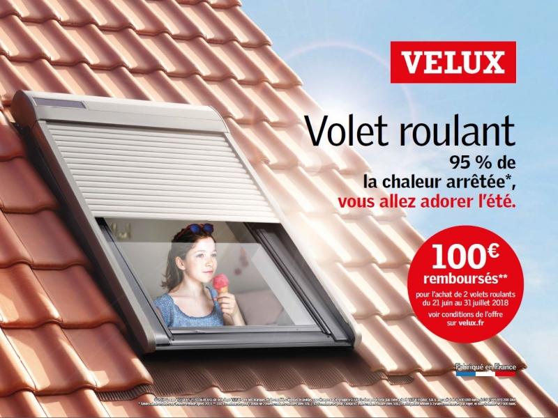 Promotion De L Ete Sur Sur L Achat De Volet Roulant Solaire Velux