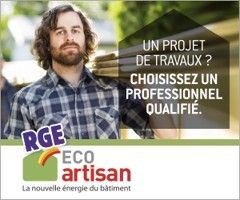 Labels Artisan RGE Eco artisan